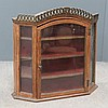 CONTINENTAL PINE WALL MOUNT VITRINE/CABINET