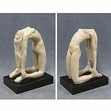 AUSTIN PRODUCTS SCULPTURE, NUDE ON BASE, SIGNED