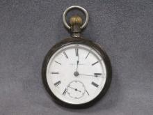 ROCKFORD WATCH CO/AUGUST HAMBOUR, POCKET WATCH