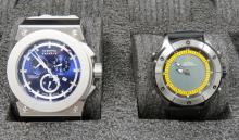 LOT (3) INCLUDING INVICTA WATCHES AND CASE