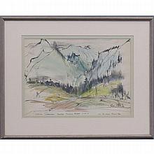 GEORGE SHAWE (AMERICAN 1915-1995), WATERCOLOR