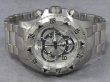 INVICTA RESERVE STAINLESS EXCURSION, MODEL 5525, QUARTZ CHRONOGRAPH WRISTWATCH (52MM)