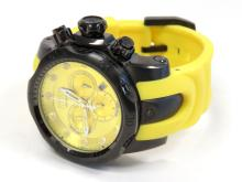 INVICTA STAINLESS/YELLOW POLY, VENOM, MODEL 11959, QUARTZ CHRONOGRAPH WRISTWATCH (54MM)