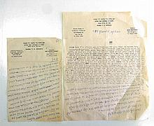A Collection of Letters of Rabbi Yosef Eliyahu Henkin and the Modzitzer Rebbe U.S.A. With Regard to a Monetary Dispute in a Family