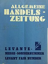 Propaganda Booklet in German for the Levant Fair in Tel Aviv ? 1934 ? with Photographs ? Rare