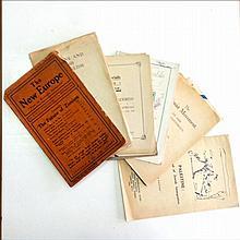 12 Rare Zionist Booklets – 1912-1925 – English