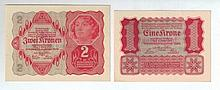 Nazi Propaganda – Two Fake Banknotes from the Period of the Holocaust
