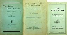 Four Rare Booklets Related to the Arabic-Palestinian Delegate to London and the Zionist Response to Its Claims – 1922