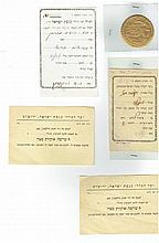 Collection of items from Jerusalem, Palestine