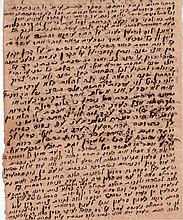 Letter from Rabbi Shlomo Zalman Baharan [1889]