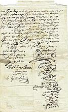 Protocol of Meeting of Heads of a Community – Hungary 1848