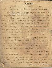 Handwritten manuscript, annals of the Heusman family