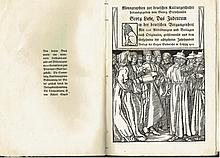 A book about the history of the Jews in Germany, many engravings, 1903, Rare!