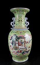 A Super Size Famille Rose Hundred Children Porcelain Vase