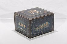 Tin Litho English Biscuit Tin