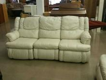 Leather Dual Recliner Sofa