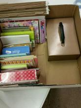 Office Supplies, Cards, File Folders, Etc.