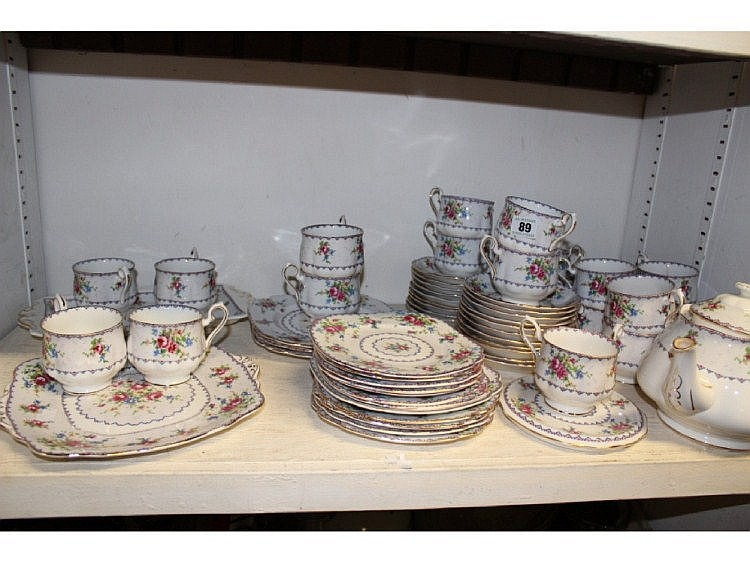 A ROYAL ALBERT TEA SERVICE