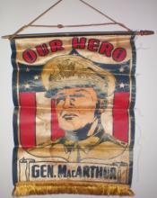 General MacArthur Banner: Printed