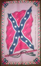 Vintage Confederate Felt  Banner