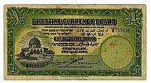 Banknote from the British Mandate