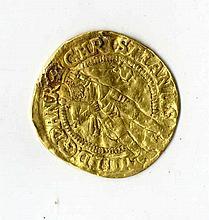 Ducat. Gold, Denmark 1645
