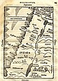 Map of the Holy Land. Solinus, Caius Iulius. Basle, 1538.