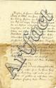 Letter from Jewish Bank David Salomon Michael & Sons. Hanover, 1793.