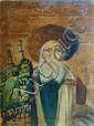 Admor on Simchat Torah Carrying Sefer Torah