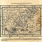Map of the Wanderings of the Israelites in the Desert. Guillaume Postel, Lyon, 1569.