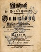 Mishnayot Translated for the First Time into German. Johann Jacob Rabe, Onolzbach 1760-1763.