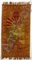 Silk Carpet. Bust of Binyamin Zeev Herzl.