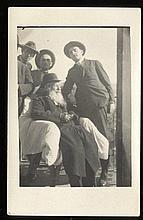 Postcard. The Saba (Grandfather) from Slobodka. 1920s.