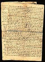 New Ideas (Chiddushim) in the Handwriting of the Gaon Rabbi Gershon Hanoch Henich Fishman. 1930s.