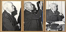 Original Photographs of David Ben Gurion [14]. Efrayim Ilani. Years 1940-1950.