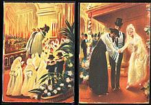 Collection of New Year Postcards and of Synagogues [28]. End of 19th Century-beginning of 20th.