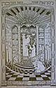 Poster. לקראת שבת. Bezalel Jerusalem. 1916
