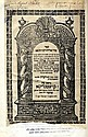 Seder Eliyahu Rabba V'Zuta. Constantinople, [1719]. Signature of the