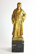 Nathan the Wise'. Bronze sculpture. Richard Lange. Germany, 1914