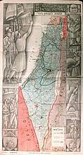 Map of Israel. KARA. [1949/1950]