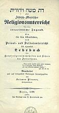 Da'at Moshe V'Yehudit. Berlin, 1838. Only Edition