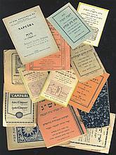 Calendars. [15]. [1885-1973]