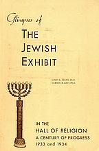 The Jewish Exhibit. United States, 1933-4