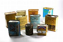 Collection of [11] Charity Boxes, Israel, 20th Century.