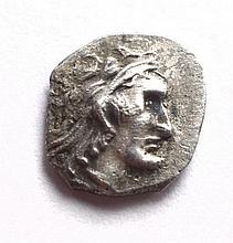 A silver quarter obol of Yehud Medinata under Ptolemy II