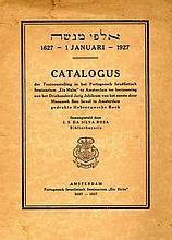 Alfei Menashe. Catalogue of Works of Menashe ben Yisrael in the