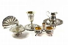 Set of Silver Items