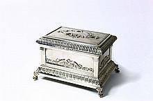 Silver Etrog Box