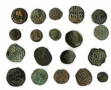 A lot of nineteen mixed Bronze Coins Hellenistic to Byzantine
