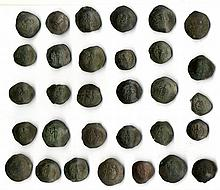 A lot of thirty one late Byzantine Scyphates